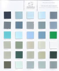 Blues Charts Uk Autentico Vintage Colour Chart The Blues And Green