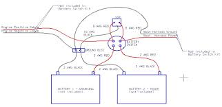dual battery wiring diagram boat dual wiring diagrams how to install a battery switch on a boat at Dual Battery Switch Wiring Diagram