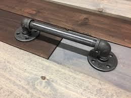 industrial rustic barn door pulls