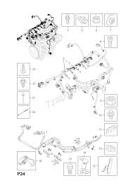 Engine and fuel injection wiring harness fittings z13dtj ldp a13dtc ldv z13dth l4i z13dte lsf a13dte lsf a13dtr lsf diesel engines opel corsa d