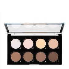 nyx professional makeup highlight contour pro palette 16 2g feelunique