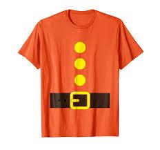 Amazon Com Orange Dwarf Costume T Shirt Color Matching