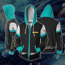 3D <b>Unisex Hatsune</b> Miku <b>Hoody</b> Printed Fashion Jackets <b>Hoodie</b> ...