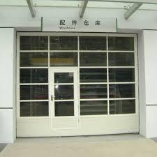 industrial garage doorsChina Sectional Transparent Garage Door  Model Industrial