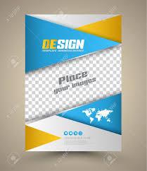 modern vector abstract brochure vector ilration book cover flyer design template can