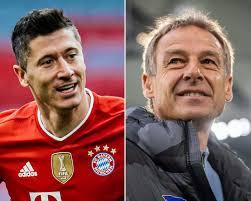 Robert lewandowski's last minute goal against augsburg was his 41st of the season, a new bundesliga record. Bundesliga Robert Lewandowski Is A Phenomenon Jurgen Klinsmann