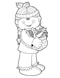 thanksgiving pilgrim girl coloring pages. Perfect Girl IColor  On Thanksgiving Pilgrim Girl Coloring Pages K