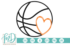 Basketball Svg Designs Basketball Svg By Morgan Day Designs Thehungryjpeg Com
