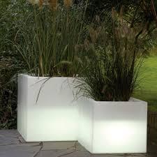 planter lighting. Serralunga Cubotti Illuminated Outdoor Planter Lighted Lighting