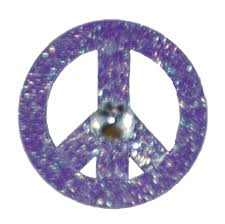 image 0 metal peace sign big magnet with bling peace sign necklace metal hand