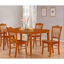 boraam 5 piece oak dining set
