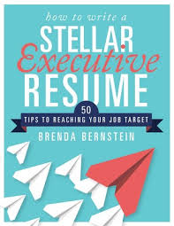 resume book how to write a stellar executive resume book by brenda bernstein