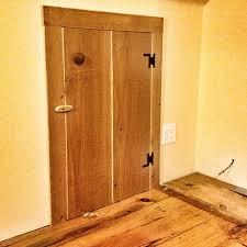 knee wall cubby access door