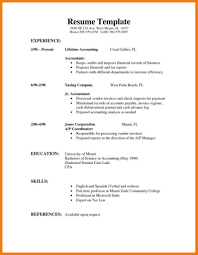 Resume For First Job Time Template Examples College Student