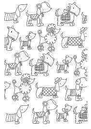 Small Picture difficult dogs elegants Animals Coloring pages for adults