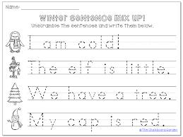 Sentence Worksheets For Kindergarten Free Worksheets Library ...