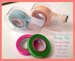 is washi tape sticky