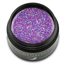 Light Elegance Get Buzzed Wipeout Uv Led Glitter Gel