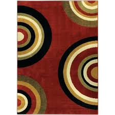 red circles rug red contemporary rug collection geometric circles red contemporary area rug x red and red circles rug
