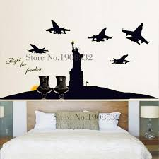 liberty bedroom wall mural: the statue of liberty for living room tv wall ande bedroom wall stickers