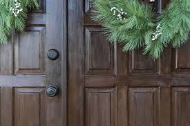 diy front door makeover with gel stain