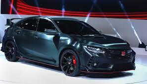 2018 honda civic type r. Wonderful Civic Could Hondau0027s New Hot Hatch Dethrone The Golf GTI Clubsport Throughout 2018 Honda Civic Type R
