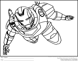 Avenger coloring pages 9