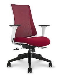 via office chairs. Via Genie Task Chair (White Frame) Red \u2013 Office Furniture Chairs