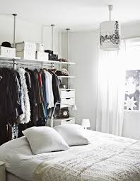 Great Bedroom With Open Closet With Modern And Classical Clothes - Storage in bedrooms