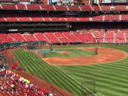 Busch Stadium Section 232 Home Of St Louis Cardinals