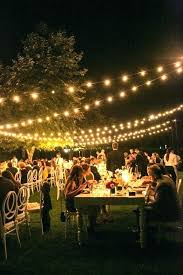 outdoor lighting outdoor lighting backyard wedding decor s for the most worthy nuptials