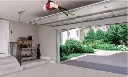 open garage door with iphoneSmartphone Enabled Garage Door Openers