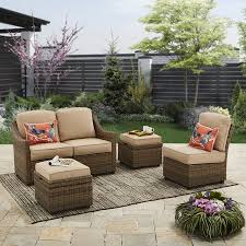 better homes and gardens adley river 5 piece outdoor sectional set outdoor sectional40 outdoor