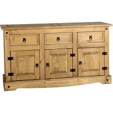 Corona 3 door 3 drawer sideboard - JB Furniture