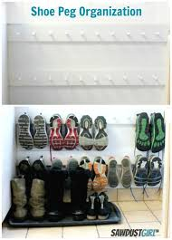 Coat Hook Shoe Rack