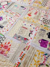 Quilt as you Go Log Cabin | Quilting in the Rain & Notice the coffee cup? So very Seattle. I was up until 2 AM the other night  finishing this thanks to good 'ol caffeine. Nights seem to be the only time  I ... Adamdwight.com