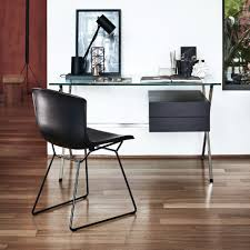 Iconic Modern Furniture Bertoia Side Chair In Cowhide By Knoll Nw3 Interiors