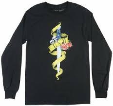 Details About Guns N Roses Gnr Long Sleeve Shirt Mens Rock Music Tee Bravado Top