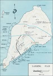 of landing plan in iwo