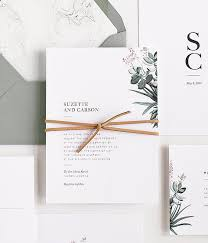 Sample Of Weeding Invitation Suzette Wedding Invitation Sample Set
