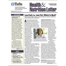 tufts university health nutrition letter magazine subscription mags