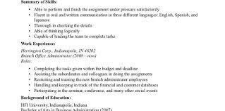 Resume Accounts Payable Resume Sensational Good Objective For