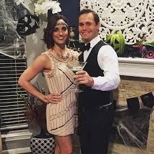 1920s couple costume for