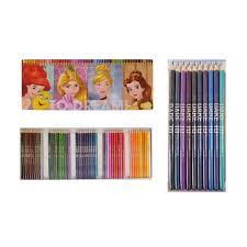 Boite De 50 Crayon De Couleur Princesses Disney Dessin Coloriage Crayon De Couleur Set De Crayons De Couleur Princesse L