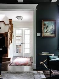 country home office. Mid-sized Country Home Office In Chicago With Dark Hardwood Floors, Grey Walls And -