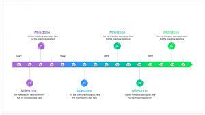 Timeline Powerpoint Slide A Beautiful Editable Powerpoint Timeline Template Free