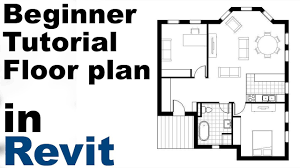 revit beginner tutorial floor plan part 1