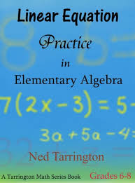 elementary algebra grades 6 8 ebook