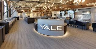 the original yale this 30 000 sq ft showroom features an award winning display with live kitchens thousands of s to experience and the yale