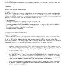 Good Resume Objectives Sample Resume Objectives For Part Time Job Copy Housekeeping 75